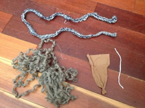 Wool Dryer Ball Parts